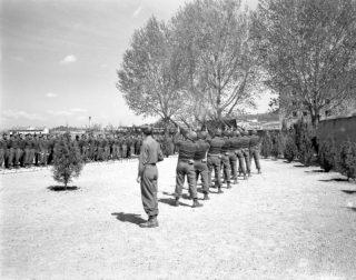 Fuoco di volleys al servizio commemorativo Castelfiorentino