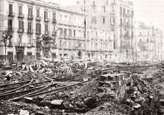 Naples Air Raid Damage in 1944_napoli guerra