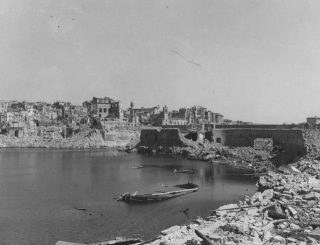 Results Of Attacks By The 12Th And 15Th Air Forces On Civitavecchia Harbor Italy