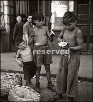 Scugnizzi Napoli 1944_napoli guerra