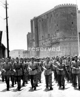 Soldati brasiliani Giunti a Napoli luglio 1944 per servire la Quinta Armata 1944-1945 Appennino settentrionale
