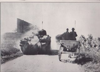 Tank in Salerno Italy WWII