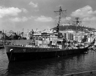 US Nave Dwayne Guardia Costiera di Napoli