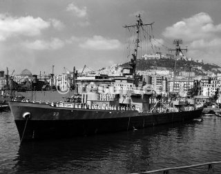 US Nave Dwayne Guardia Costiera di Napoliwwii