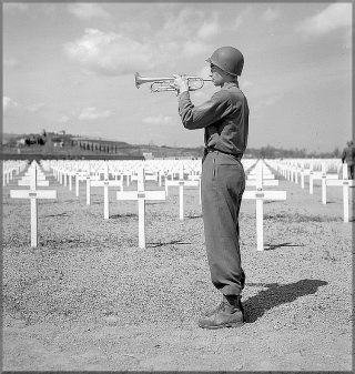 april 6 1945 at the american cemetery in castelfiorentino florence province italy