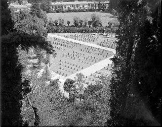 april 6 1945 view of cemetery in castelfiorentino italy
