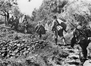 gothic line German troops in Italy October 1944