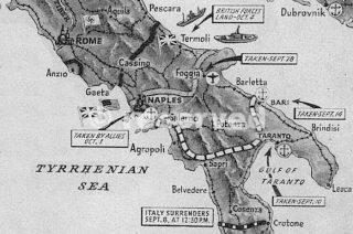 map naples