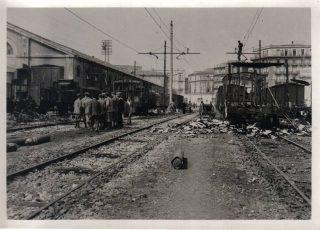 napoli durante la guerra stazione 1943