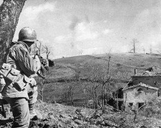 penetrare nella linea gotica nell'autunno del 1944