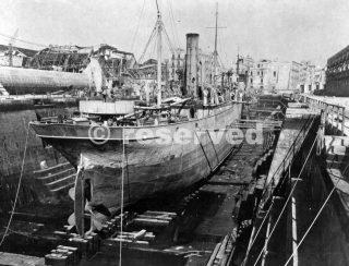 port napoli 1944_napoli guerra