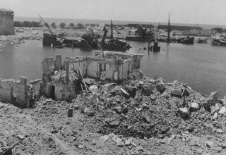porto civitavecchia Demolished During Bombing Raids By The 12Th And 15Th Air Forces