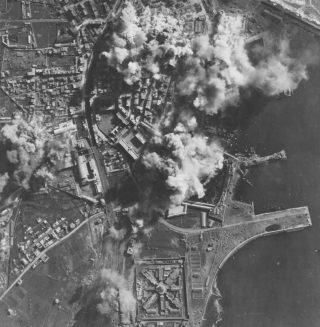 raid by Martin B-26 Marauders of the 12th AAF on the port of Civitavecchia