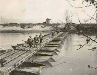 River crossing at the Garigliano