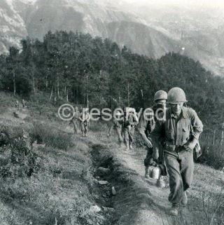 85th Infantry Division advance along the Apennine Mountains near Mount Verruca September 18 1944