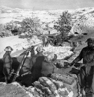 Indian soldiers of 8 Indian Division Gothic-Line Italy