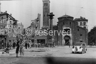 milano 1943 bombardata