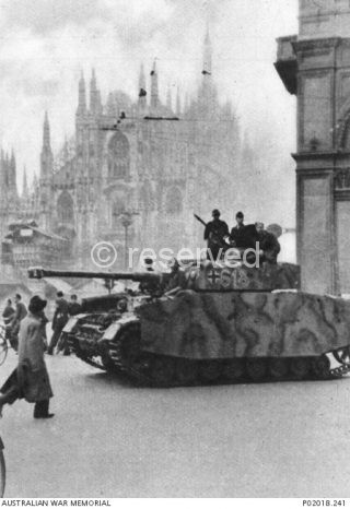 milano 1943 occupazione tedesca