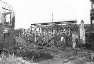 milano I resti del Teatro del Popolo 1943