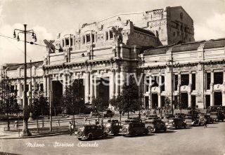milano Piazza Duca D'aosta Stazione Centrale - Fine anni 40