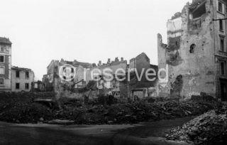 milano Via Aleardi al quartiere cinese colpita nel tardo pomeriggio del 24 ottobre 1942