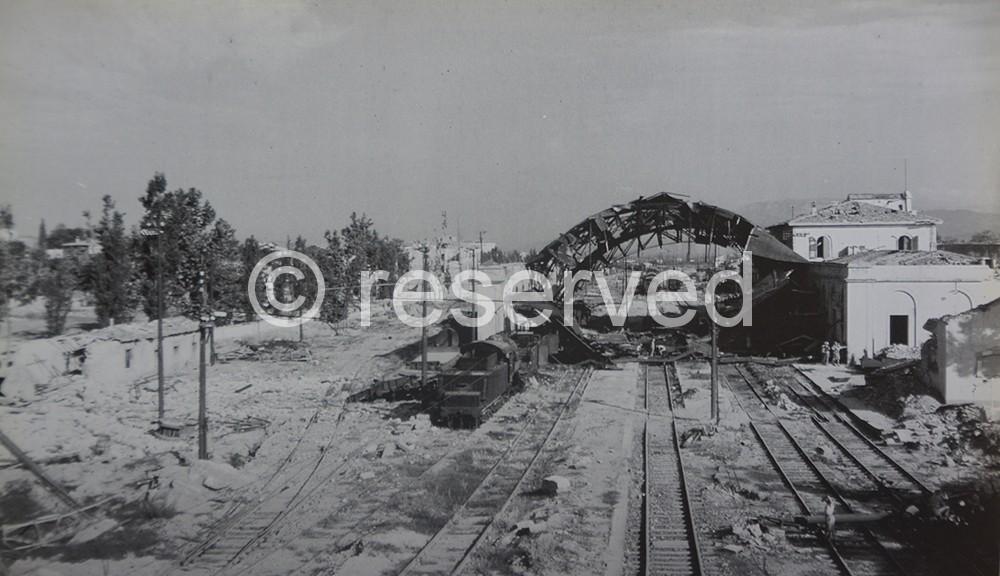stazione di Arezzo 1943