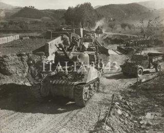 1944 settembre serbatoi alleati vicino al fiume Sieve zona Borgo San Lorenzo