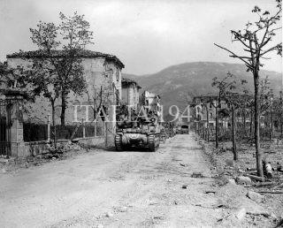 1st Armored Division 81st Recon Squadron - 16 aprile 1945 - Vergato