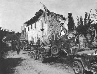 91st Division Medics at Pianoro April 1945