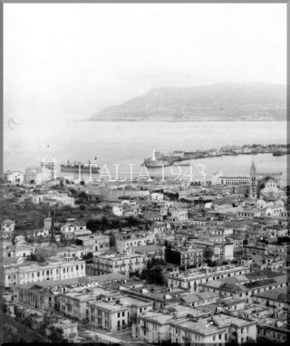 MESSINA WITH THE ITALIAN MAINLAND ACROSS THE STRAIT On 3 September 1943_world war italy