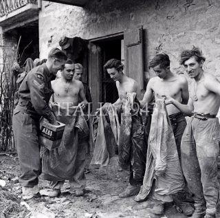Prigionieri di guerra tedeschi Castel del Rio Italia ottobre 1944