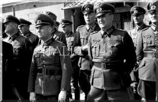 Riva-Bella rimini weapons demonstration Panzerwerfer Rommel_world war italy