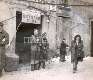 Soldati del 6th South African Armored Division Castiglione dei Pepoli - Via S. Lorenzo- Italy 1944-1945