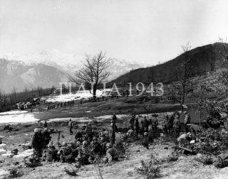 21 febbraio 1945 Stazione di assistenza medica sul Monte Belvedere